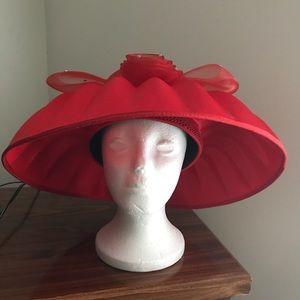 Red Bundt Style Hat